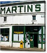 Martin's Canvas Print