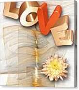 Marucii 277-07-13 Love Canvas Print