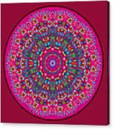 Mary Grace Mandala Canvas Print