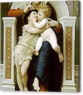 Mary Jesus And John The Baptist Canvas Print