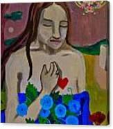 Mary Magdeline Canvas Print