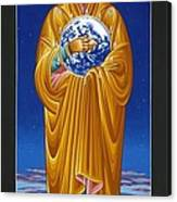 Mary Most Holy Mother Of All Nations 080 Canvas Print