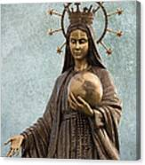 Mary Mother Of Jesus Canvas Print