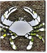 Maryland Country Roads - Camo Crabby 1a Canvas Print