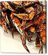 Maryland Crabs Canvas Print