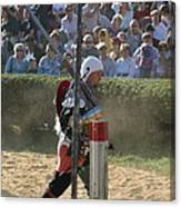 Maryland Renaissance Festival - Jousting And Sword Fighting - 1212119 Canvas Print