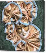 Maschera Di Carnevale Canvas Print