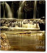 Mash Fork Falls Canvas Print