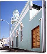 Masjid Boorhaanol Bo Kaap Canvas Print