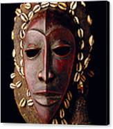Mask From Ivory Coast Canvas Print