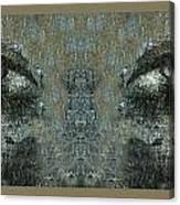 Maskeye Canvas Print