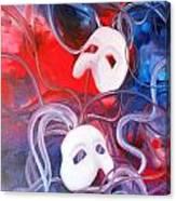 Masks 3 Canvas Print