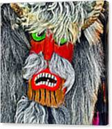 Masks. Next To Bran Castle - Dracula's Castle.  Canvas Print