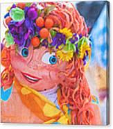 Maslenitsa Dolls 1. Russia Canvas Print
