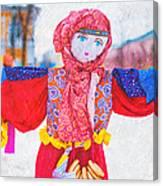 Maslenitsa Dolls 4. Russia Canvas Print