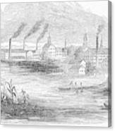 Massachusetts Lawrence Canvas Print