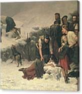 Massacre Of Glencoe, 1883-86 Canvas Print