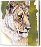 Massai Queen Canvas Print