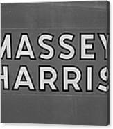 Massey Harris Canvas Print