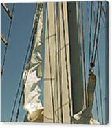 Mast Stepping Canvas Print