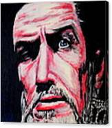 Master Of The Macabre-vincent Price  Canvas Print