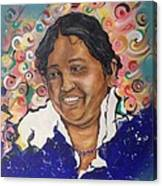 Mata Amritanandamayi @ Erikfranco1.com Canvas Print