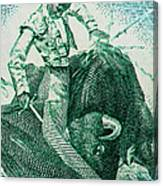 Matador 3 Canvas Print