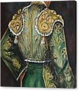 Matador In Green Canvas Print