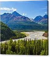Matanuska River Canvas Print