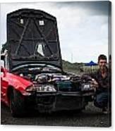Mate Its My Car Canvas Print