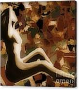 Material Woman Canvas Print