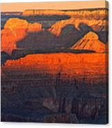 Mather Point Sunrise Grand Canyon National Park Canvas Print