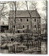 Mather's Grist Mill Canvas Print