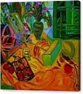Matisse Table Canvas Print