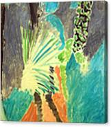 Matisse's Palm Leaf In Tangier Canvas Print