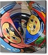 Matryoshka Egg Canvas Print