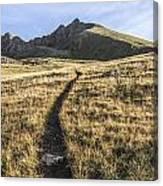 Matterhorn Peak - Colorado Canvas Print