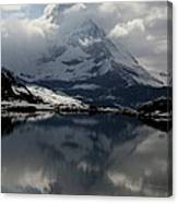Matterhorn Reflection From Riffelsee Lake Canvas Print