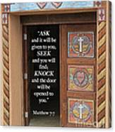 Matthew Seven Seven Canvas Print