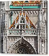 Matthias Church In Budapest Canvas Print
