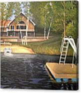 Matt's Cabin Canvas Print