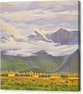 Matukituki Valley Canvas Print
