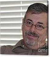 Mature Man Looking At Viewer Canvas Print