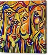Maudlin Maidens Canvas Print