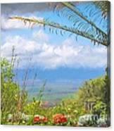 Maui Botanical Garden Canvas Print