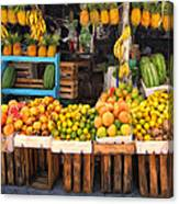Maui Fruits And Vegetables Canvas Print