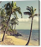 Maui Lu Beach Hawaii Canvas Print