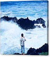 Maui Shore At The Keanae Pennisula 2 Canvas Print