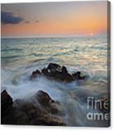 Maui Tidal Swirl Canvas Print