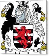 Maule Coat Of Arms Irish Canvas Print